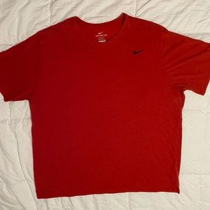 Heathered Red Nike Dri-Fit
